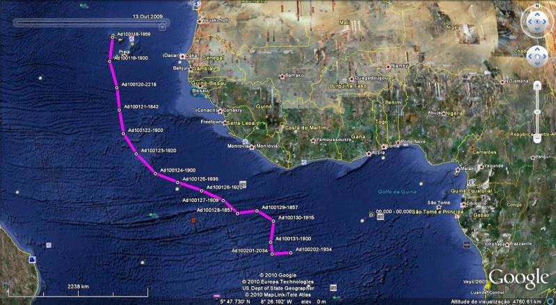 Viagem à vela entre Mindelo (Cabo Verde) e Luanda (Angola) Adrian12