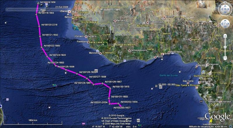 Viagem à vela entre Mindelo (Cabo Verde) e Luanda (Angola) Adrian13