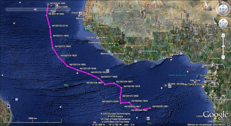 Viagem à vela entre Mindelo (Cabo Verde) e Luanda (Angola) Adrian15