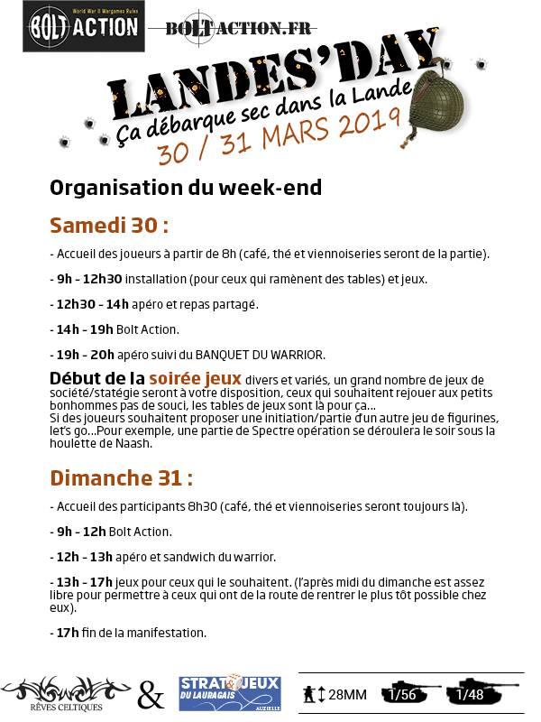 Landes-Le-Gaulois 30/31 Mars 2019 - Page 2 49656210