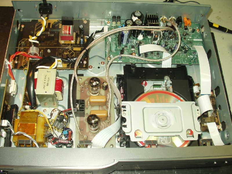 Upgrade Pioneer PD-6-J Versão 2 a valvulas P1010034