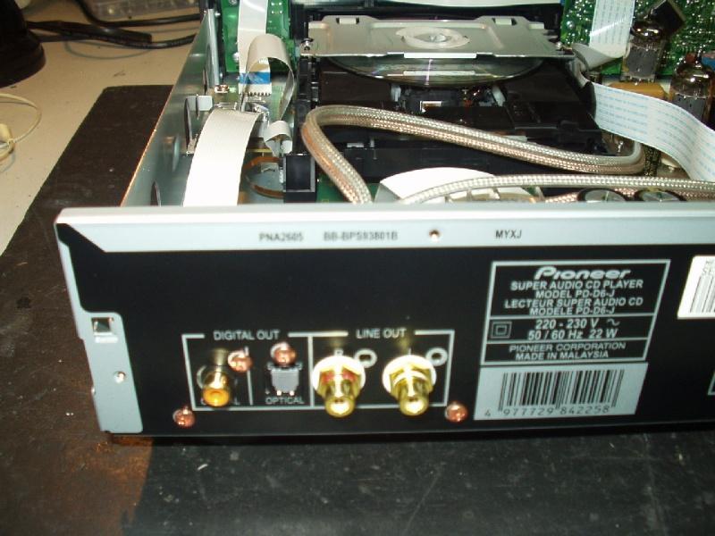 Upgrade Pioneer PD-6-J Versão 2 a valvulas P1010036