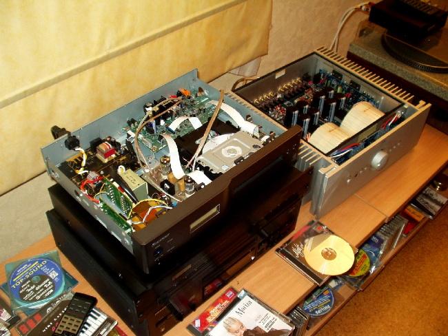 Upgrade Pioneer PD-6-J Versão 2 a valvulas P1010046