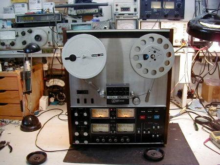 Gravadores de bobines Teac_310
