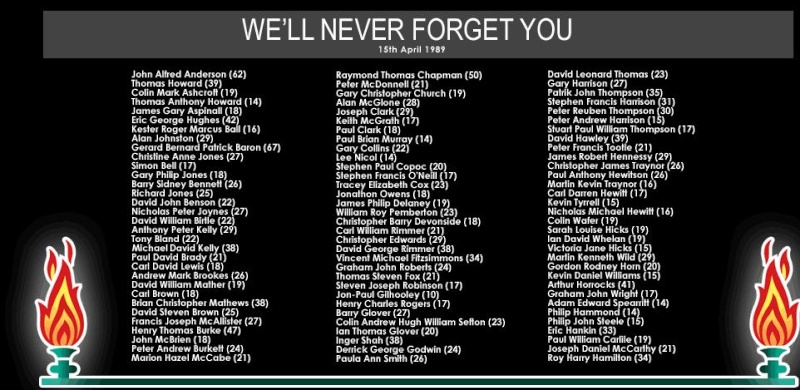 15TH April 1989-15th April 2009. Hillsborough disaster Hillsb10