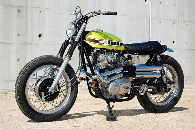 xs650 track Yamaha11