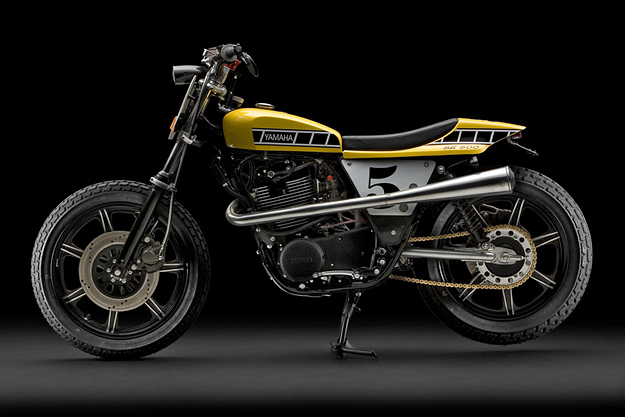 sr500 street tracker Yamaha15