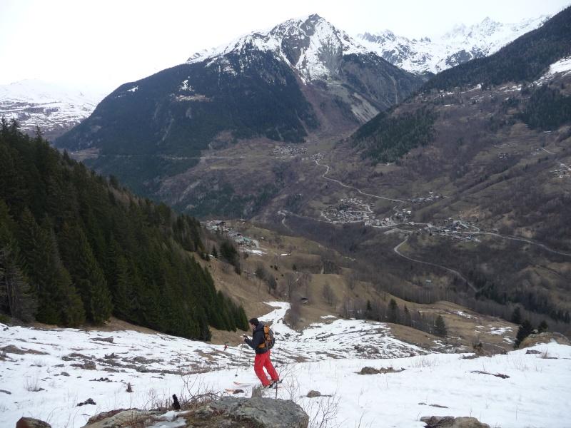 [Les Arcs]Les hors-pistes des Arcs P1040127