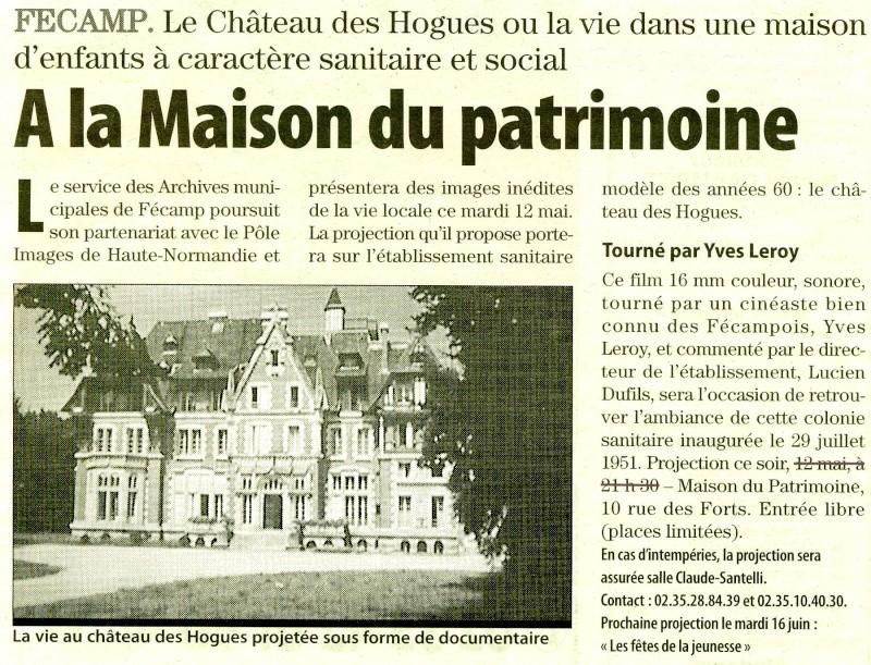 Fécamp - Château des Hogues 2009-020