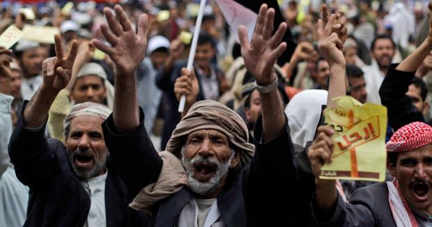 Yemen decreta el estado de emergencia tras la muerte de decenas de manifestantes Manife10