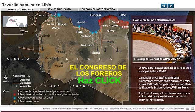 El conflicto de Libia Revuel10