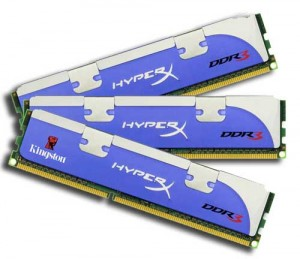 Kingston HyperX de 24GB DDR3 1600 MHz para Core i7 Hyperx11