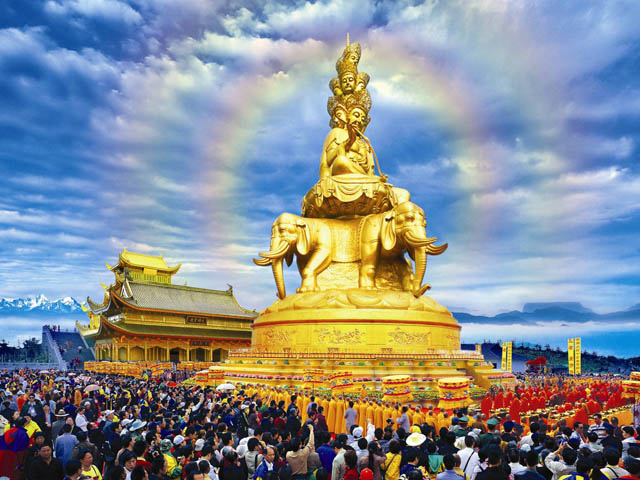 Les grandes écoles du bouddhisme chinois Ermei410