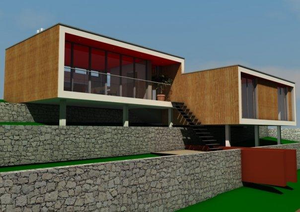 réalisation d'un très bon ami architecte sur Marseille Maison10