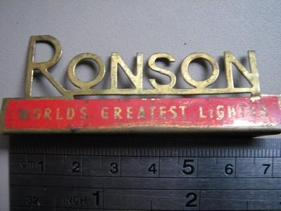 les briquets RONSON  d'Aurelien Toclic19