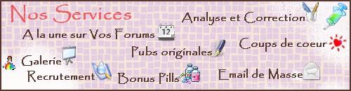 Le Forum P.A.F pour vos pubs et l'aide aux Forums - Page 3 Servic10