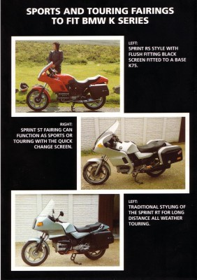 How many after market fairings for the K100? 19769_10