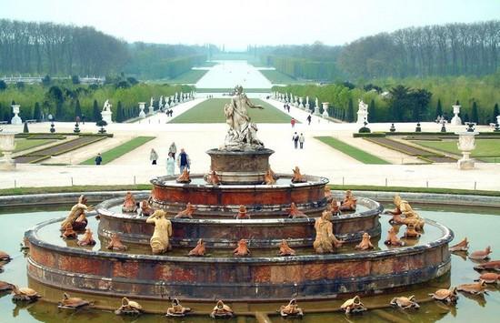 Château de Versailles : résidence de Ses Majestés Chatea10