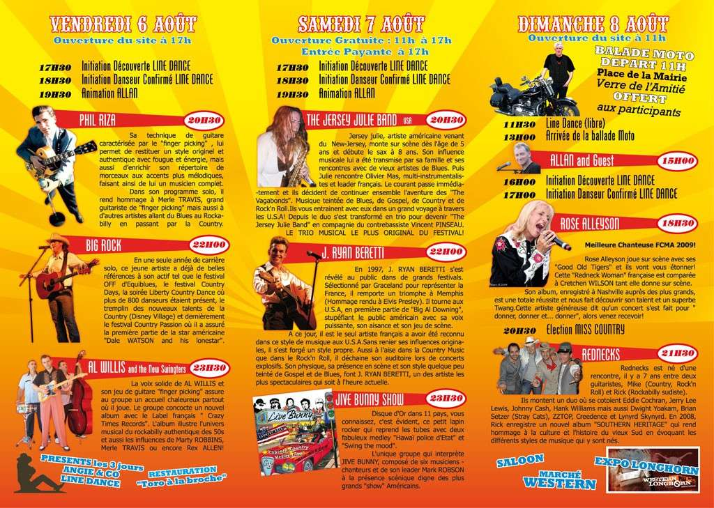 Programme Sud Country Rock 2010 Progra12
