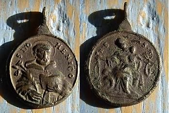Médaille Saint-Dominique de Gùzman - XVIIème 16010611