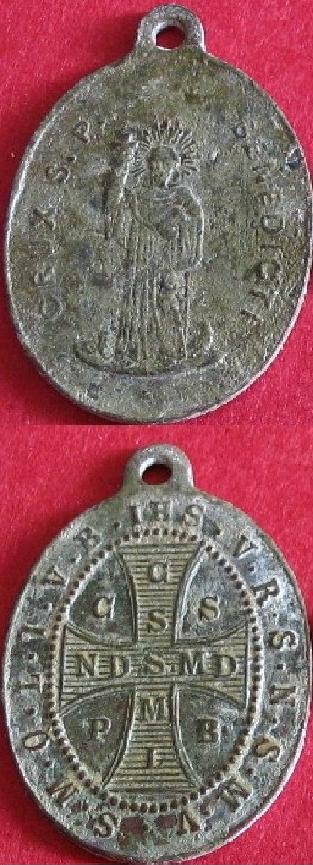 Médaille de ST BENOIT - XIXème 2rxikc11