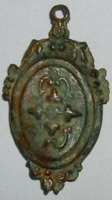 Médaillon pivotant - probable XVIIème Imgp1124