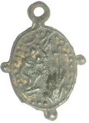 Médaille Scène de la crucifixion & Vierge - XVIIème Imgp2010