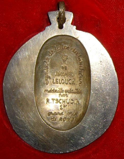 Médaille d'Amour  espoir et bonheur Imgp9717