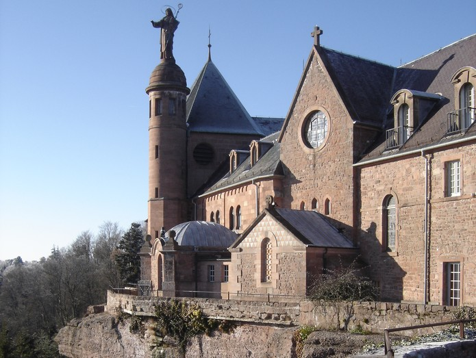 Mont ST Odile en Alsace Monast10