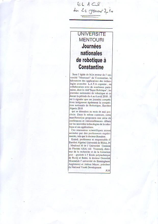 Les Journées Nationales de la robotique dans les journaux Sans_t11