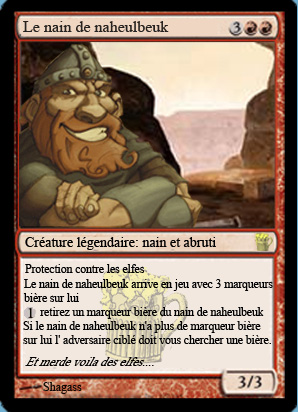 Naheulbeuk en Cartes Magic A10