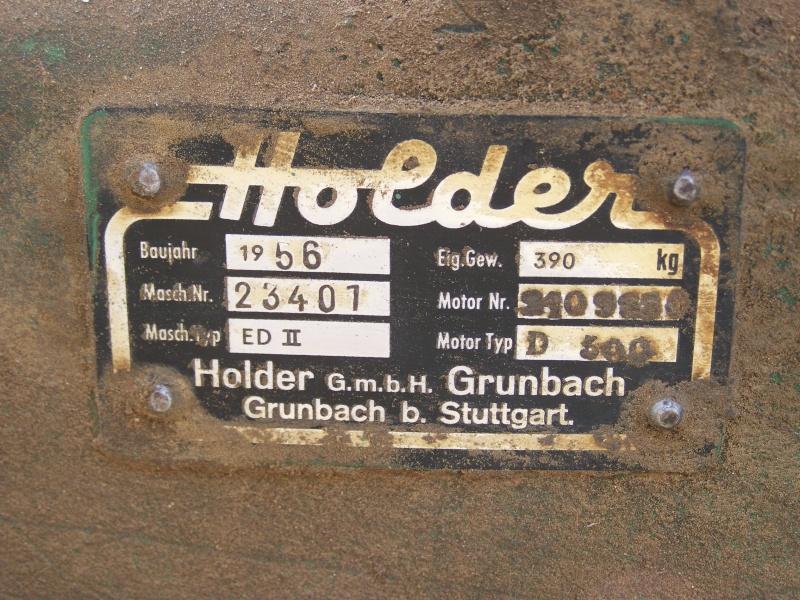 holder - Motoculteur HOLDER ED 2 ( 10cv ) 100_2119