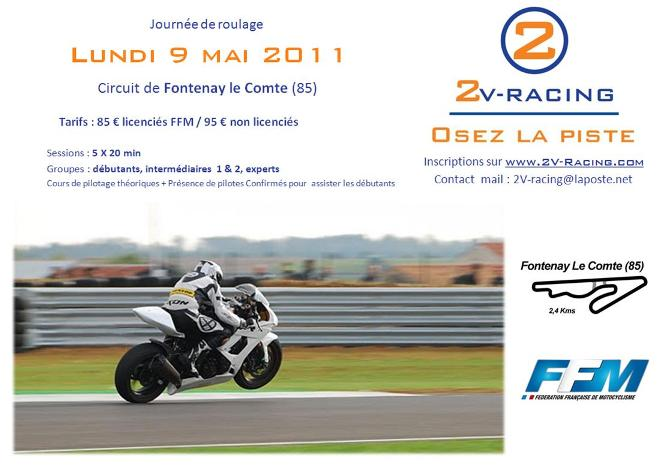Lundi 9 mai 2011 - Fontenay le Comte - [2V-Racing] Affich23
