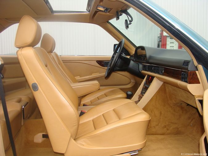 Les interieurs de W126 1980 - 1992 00618