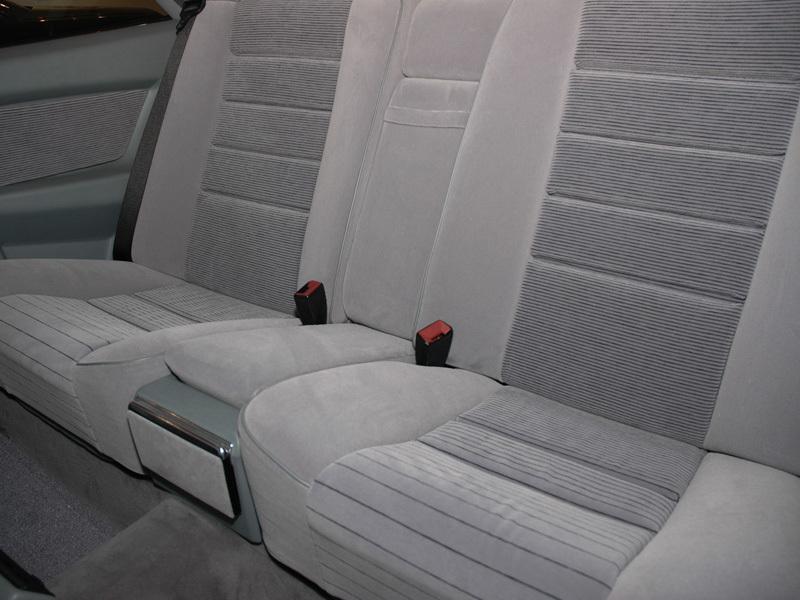 Les interieurs de W126 1980 - 1992 00715