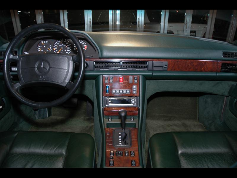 Les interieurs de W126 1980 - 1992 00815