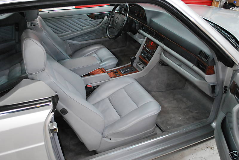 Les interieurs de W126 1980 - 1992 2449_310