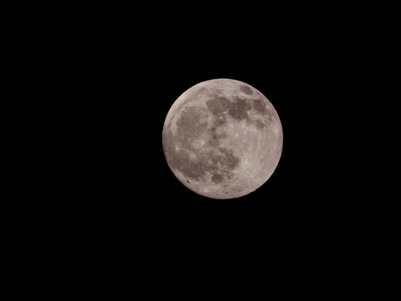 la lune à la Terre Mk203810