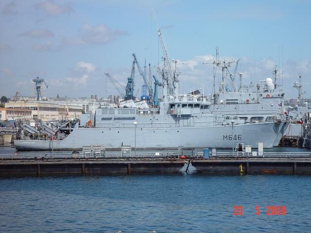 [Les ports militaires de métropole] Port de Brest - TOME 1 Fougue14