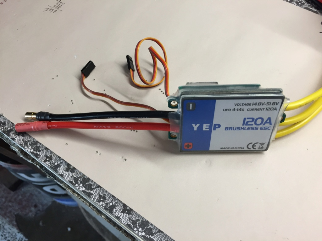 ESC  YEP Hv  120 Amp 150 en Burst. Esc10
