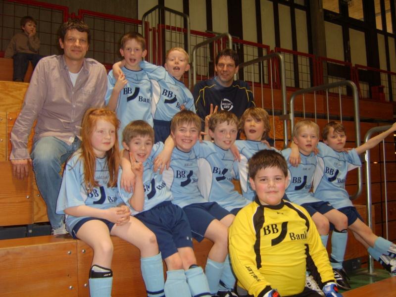 2. Platz der F-Jugend beim Hallenturnier in Sankt Augustin Fsta2010