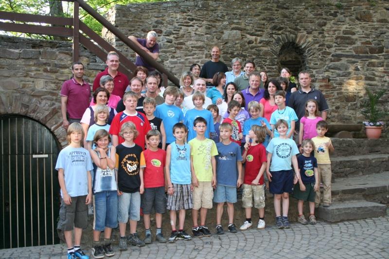 Mannschaftstour 2010: Auf zur Burg Img_8510