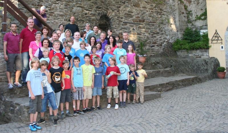 Mannschaftstour 2010: Auf zur Burg Img_8511