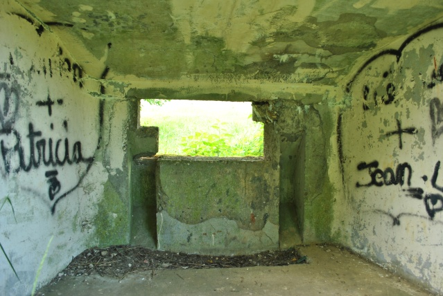 Maginot: blockhaus pour 25mm AC Fermon16