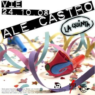ALE CASTRO @ VIE 24.10.08 @ LA QUINTA Ale2411