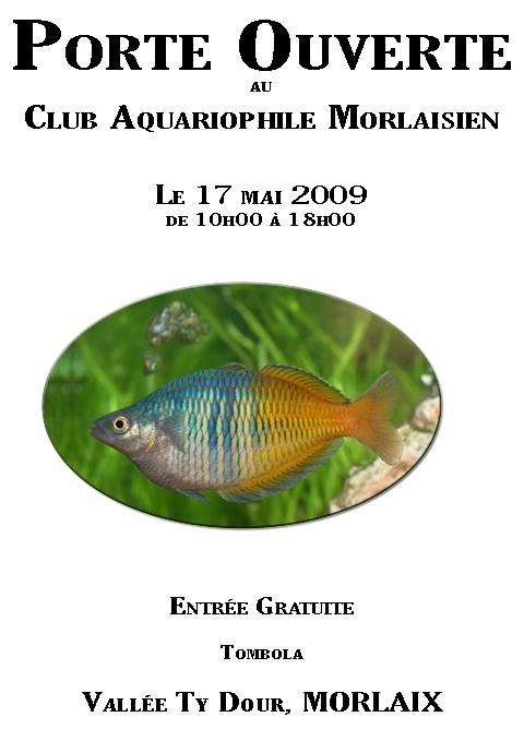 Club de Morlaix - Porte Ouverte Affich10