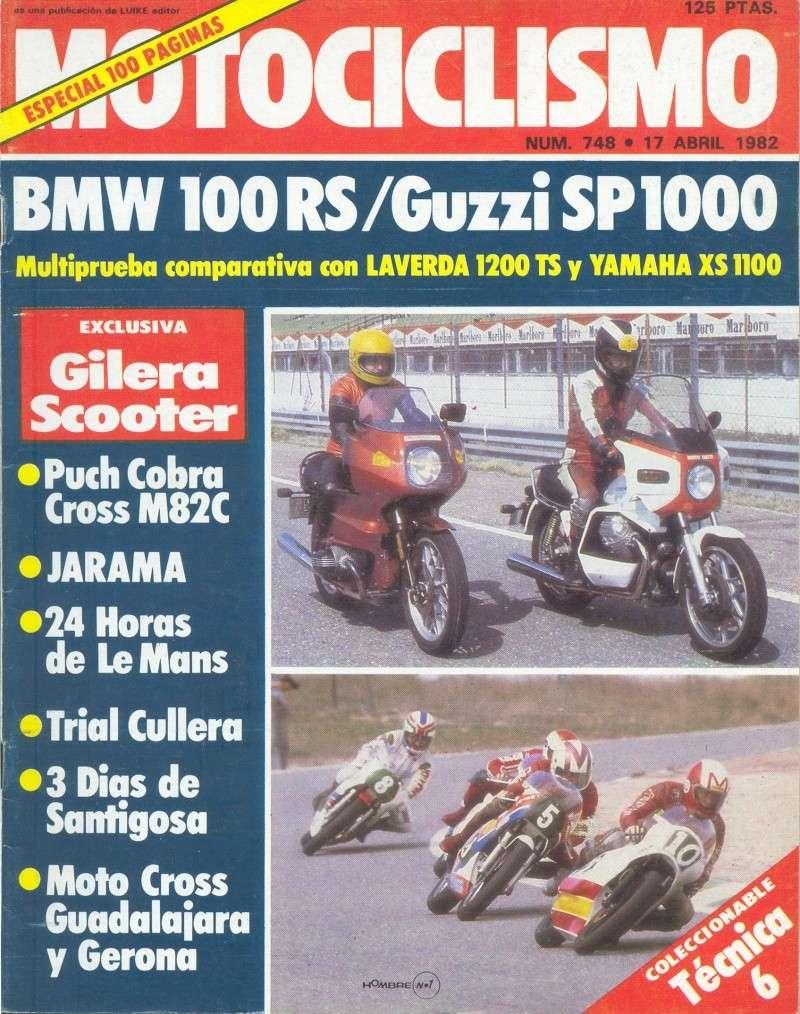 Motociclismo 748 - Abril 1982 - Puch Cobra M-82 C 0014