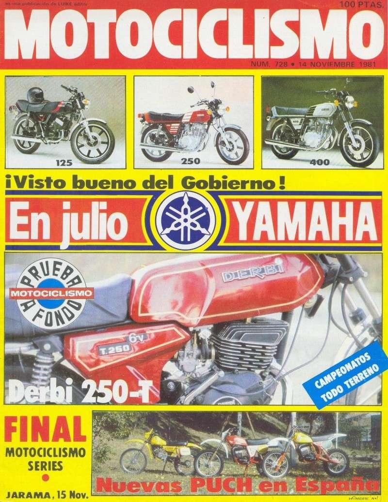 Motociclismo 728 - Noviembre 1981 - Puch MiniCross Condor/Frigerio 125 TT/250 Cross/Cobra TT Agua 0127