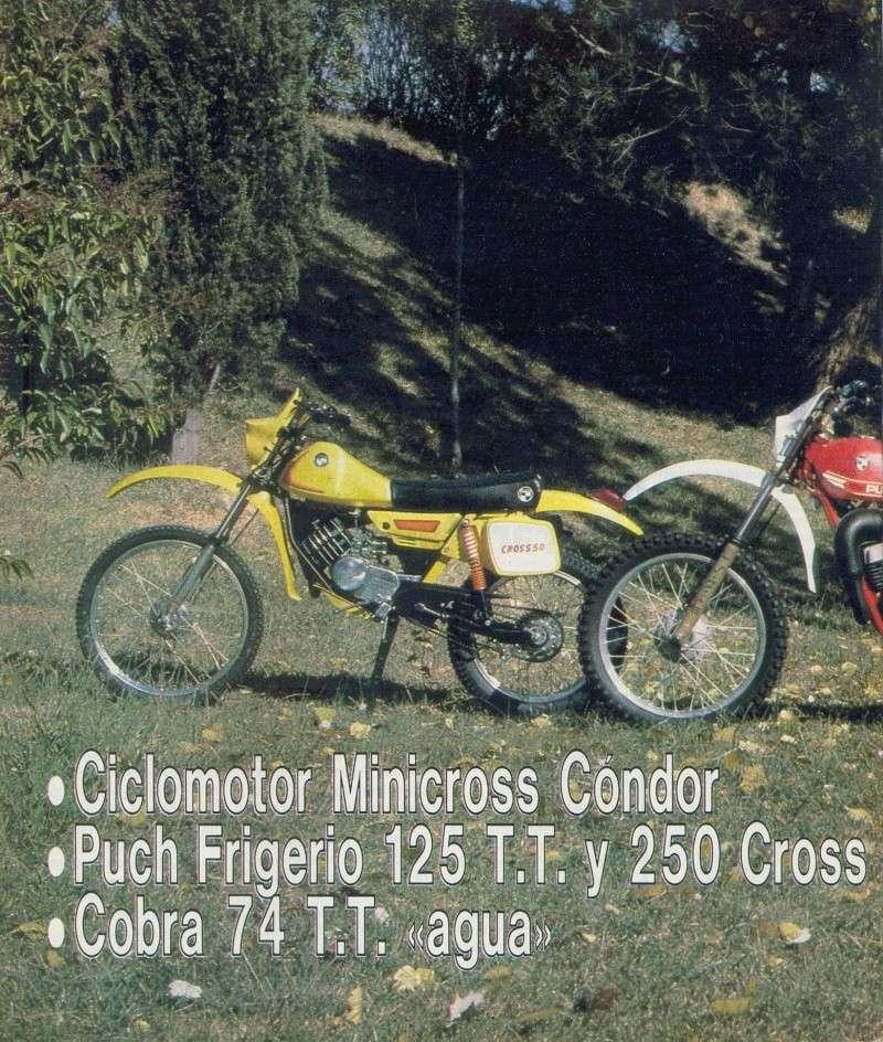 Motociclismo 728 - Noviembre 1981 - Puch MiniCross Condor/Frigerio 125 TT/250 Cross/Cobra TT Agua 0318