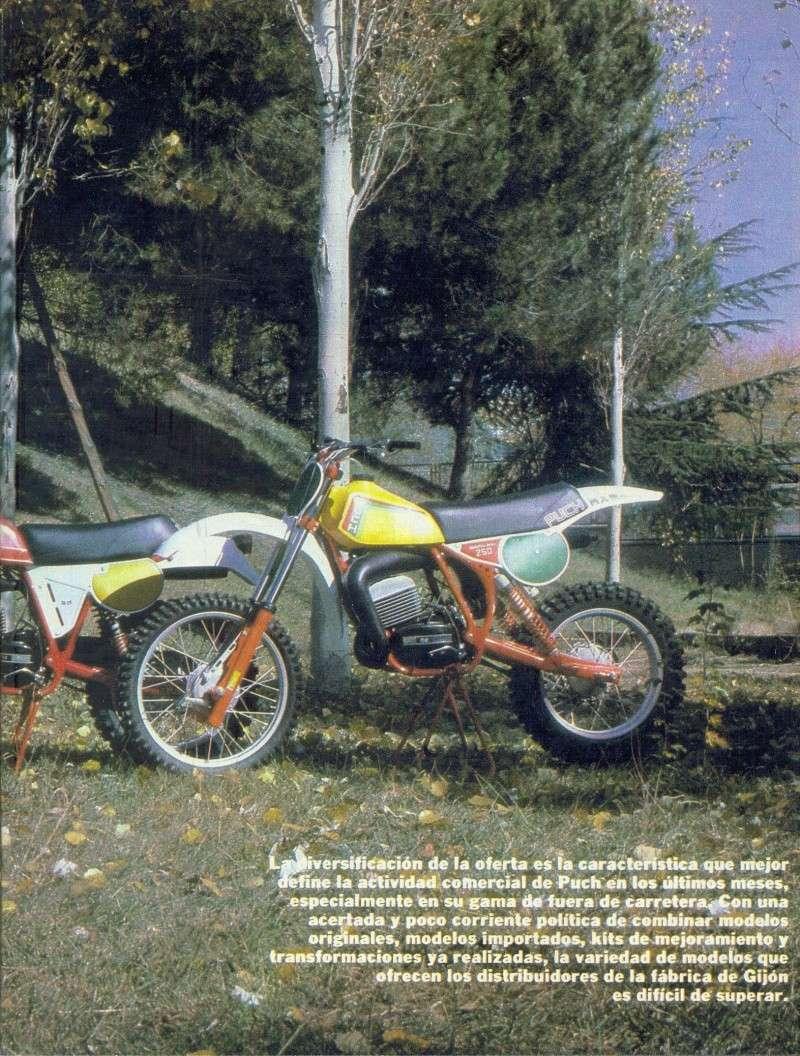 Motociclismo 728 - Noviembre 1981 - Puch MiniCross Condor/Frigerio 125 TT/250 Cross/Cobra TT Agua 0417